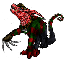 Freddy Hellhound Colored by xEvilxPenguinxNinjax