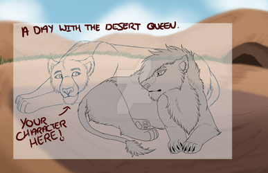A Day With The Desert Queen- OPEN YCH! by YllannaStafford
