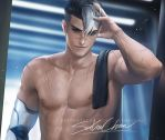 Shiro .shirtless vr. by sakimichan