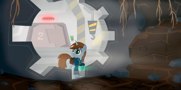 Fallout: Equestria - Out of the Stable by TheAstralWanderer