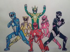 Its Morphin Time!-Power Rangers by KingCozy7