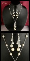 Four Tints of Pearls  set Z176 by AnnAntonina