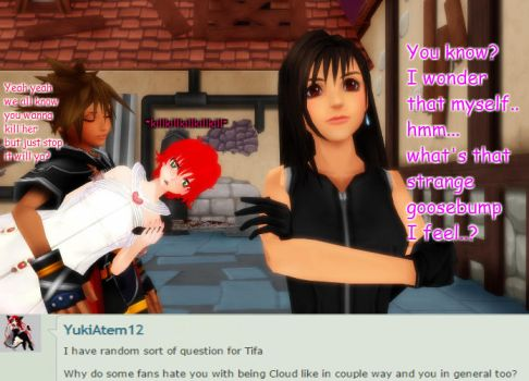 Question #92 Tifa: Haters?: by AsktheKHcrew