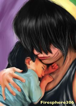 She's Somebody's Hero-Toph and Lin Painting by Firesphere306
