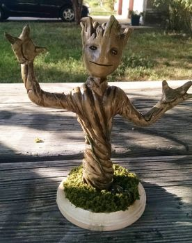 Baby Groot by Dimfist