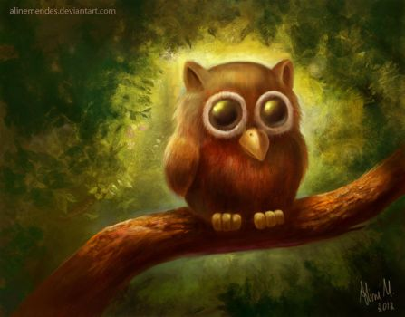 The Epic Owl by AlineMendes