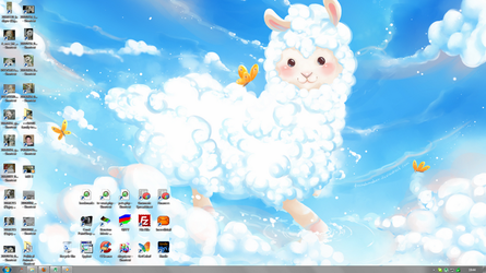 In The Clouds desktop by Jofrenchie