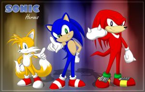 Sonic Team Heroes by FantaTara