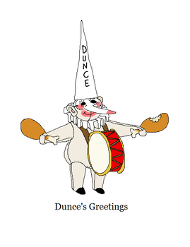 Dunce by triple65forkedtongue