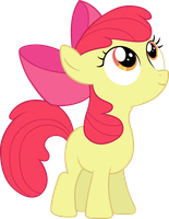Apple Bloom cute by Myardius
