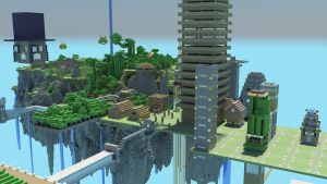 Island Town by strawberryminecraft