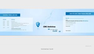 Invitation Card for CMC IS by vic198x