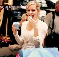 Emma Watson and Her Shrunken Treats by scapegoat26