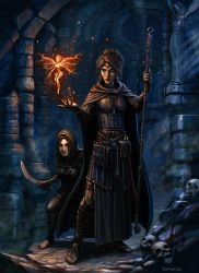 Treasure and Trouble by SirTiefling