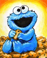 Cookie Monster II by ateyeman