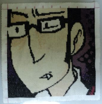 Conrad Cross-Stitch by lira-chan