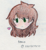 Cheap Commissions: Colored Chibi Headshot 1 by SoraHikarii