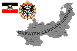 greater Ggerman empire (mapping) by DimLordofFox