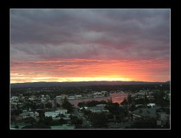 Sunset in Gold Coast by AEvision