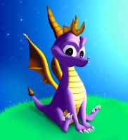 Spyro The Dragon by XsiempreFanCSY