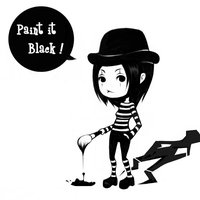 Paint it black by Ohlleen