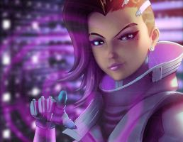 Overwatch - Sombra by vincyWP