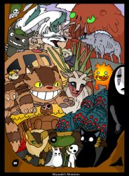 Miyazakis Monsters - COLOUR by raygirl