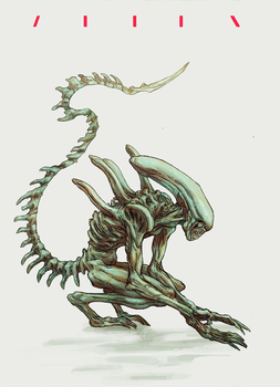 Alien by korintic