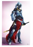 Character Design: Xaisen by CoolSurface