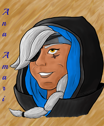 Ana Amari by LooneyArtist