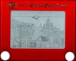Chicago Etch by bryanetch