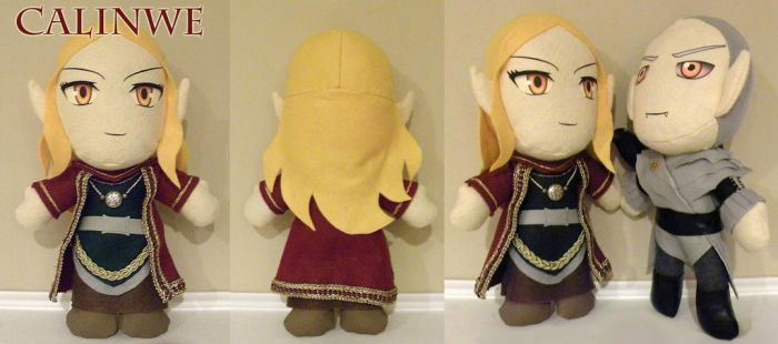 Calinwe Plushie by LMColver
