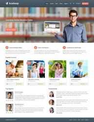 Academy  Learning Management Theme by freewordpressthemes