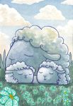Sleeping sheeps 02 by Siriliya