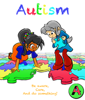 Autism Awareness Month by A4ArtStuff