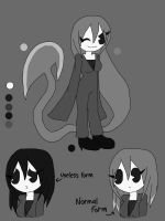 BATIM OC: Vitchy the Weapon - (with ref sheet) by academian