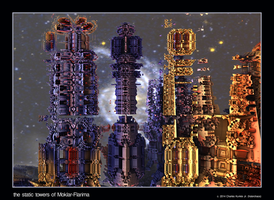 the static towers of Moklar-Flarima by fraterchaos