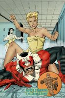 BLOODSTRIKE 31 cover by ColtNoble
