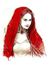 Melisandre The red priestess by Vranckx