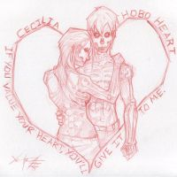 Hobo Heart and Cecilia by ChrisOzFulton