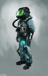 Space Pilot by SamTheConceptArtist