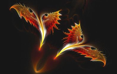Dragons - With Wings of Fire by eReSaW