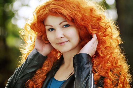 Modern Merida - Be brave enough to see it by straychild77