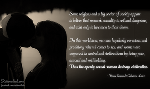The demonization of female sexuality.. by rationalhub
