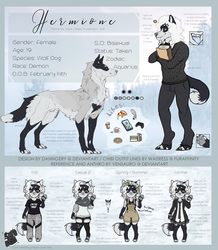 Hermione Reference Sheet by Vensauro