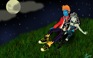 Halloween lovers by cammie3267