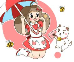 Bee and Puppycat  =^.^= by colajet