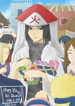 Hokage Itachi's Birthday by miyo11