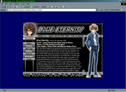 Blue Eternity v1.0 Screenshot by renachan