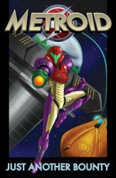 Metroid Comic Cover by Dyir